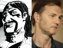 Governor - The Walking Dead Comparison