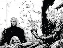 Tyreese - The Walking Dead comic