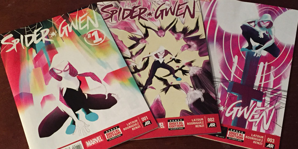 Spider-Gwen Covers