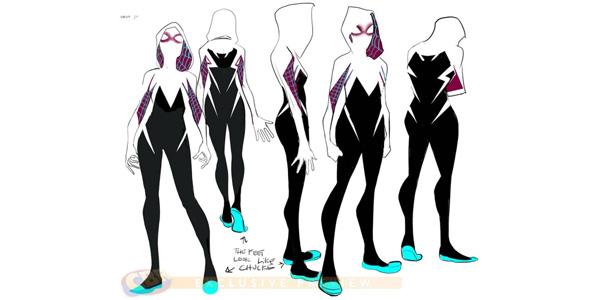 Spider-Gwen Design