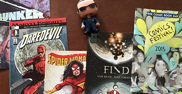 Comic Book Day 2015 Stash